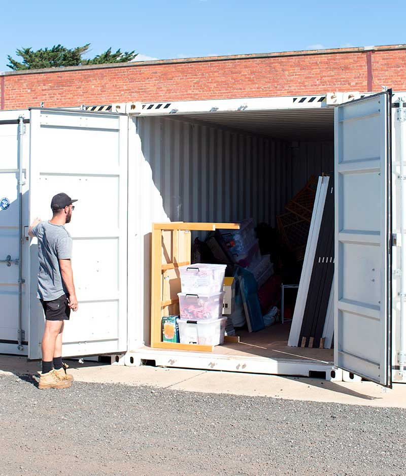 Large Self storage containers